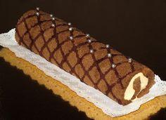 Brazo de tiramisú decorado www.ricapasteleria.com