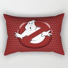 Ghostbusters Logo Rectangular Pillow