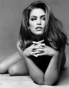 Cindy Crawford...boudior pose? :)