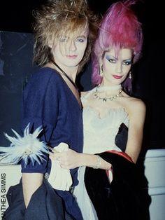 Best Fashion Look : new-romantic_mode Goth Glam, Punk Goth, 80s Goth, 80s Fashion, Fashion Looks, Fashion History, Style Fashion, Fashion Design, Deathrock Fashion
