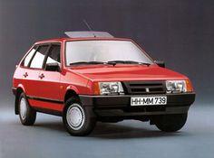 """Lada Samara """"Hanseat"""" by Deutsche Lada '1990–93"""