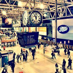 London Waterloo Railway Station (WAT) in South Bank, Greater London