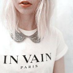 Vergeblich: 'In Vain' Paris. Hier entdecken und kaufen: http://sturbock.me/Lu2