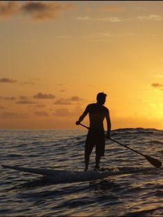 Evening Ocean SUPing