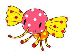 Animal cartoon character - Candy elephant