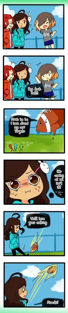 Anti-Social Media :: 1: Luck...Maybe?   Tapastic - image 1