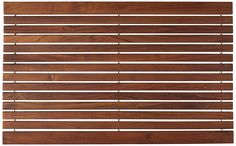 Bare Decor Cosi String Spa Shower Mat in Solid Teak Wood Oiled Finish, 31.5 by 20-Inch >>> Tried it! Love it! Click the image. (This is an amazon affiliate link. I may earn commission from it)