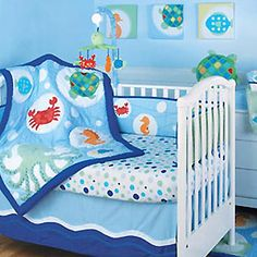 If I ever have a boy this is what his room will look like. Under the Sea <3