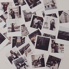 tomorrow, paris bound, how fitting for all my memories from last #pfw to arrive today in polaroid format from @inkifi_instagram