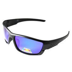 3be5d293209e0 Sunglass Hut HU2001 Polarized Sunglasses - Black Gray - Standard ...
