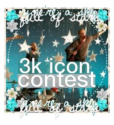 """☆ - my 3k icon contest!"" by wheezzyseed-icons ❤ liked on Polyvore featuring art"