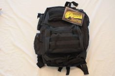 Voodoo Tactical Improved Matrix Pack Backpack Black NWT Free shipping USA 48