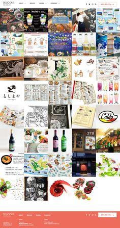 Web Design for Delicious Design Inc. Web Design, Design Web, Website Designs, Site Design