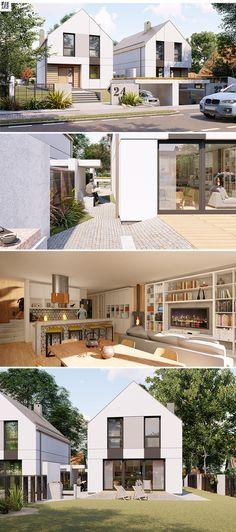 Projekt domu Eskulap 2