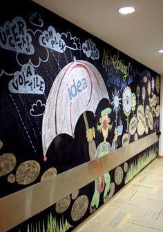 Kraft Foods Canada. Chalk Wall. 2014.