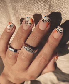 Chic Nails, Stylish Nails, Trendy Nails, Cute Acrylic Nails, Matte Nails, Gel Nails, Funky Nail Art, Funky Nails, Perfect Nails