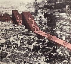 Giuliano Fiorenzoli Architects – Linear City, Florence, 1968
