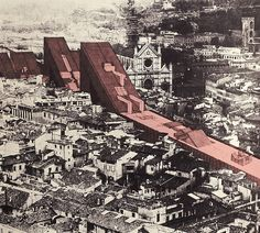 Giuliano Fiorenzoli Architects – Linear City, Florence, 1968