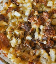 Mississippi Mud Cheesy Potatoes | cooking for you