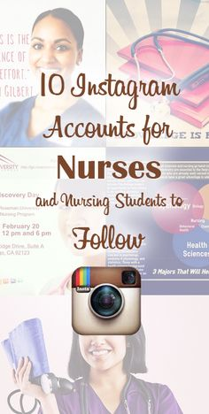10 Instagram Accounts for Nurses and Nursing Students to Follow
