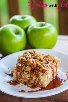 Cooking with Jax: Caramel Apple Cheesecake Bars