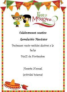 Invitacion revolucion mexicana