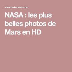 NASA : les plus belles photos de Mars en HD