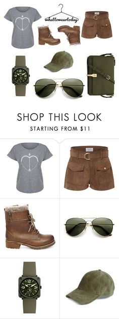 """""""What To Wear Today"""" by catthepunisher ❤ liked on Polyvore featuring Festuvius, Frame, Steve Madden, Bell & Ross, rag & bone and Elizabeth and James"""