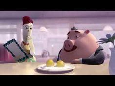 Una de empatia con una gallina y un huevo...Cuesta ponerte en la piel de los demás…en el 99% VALE la pena y MUCHO…. #LaRanaGaspar