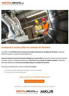 Contribuiti la studiul pietei de ventilatie din Romania