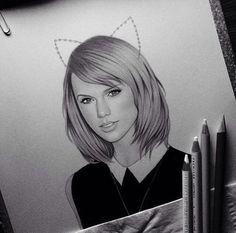 #TaylorSwiftArt
