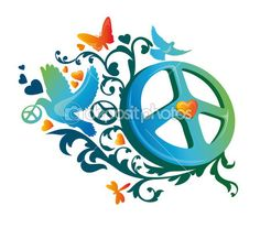 Vectores de stock de Peace symbol, ilustraciones de Peace symbol ...