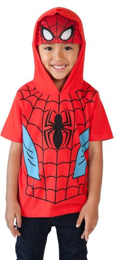 Indepence Life Toddler/&Teen Boys Fashion 3D Printed Spiderman//Ironman Short Sleeve T-Shirt