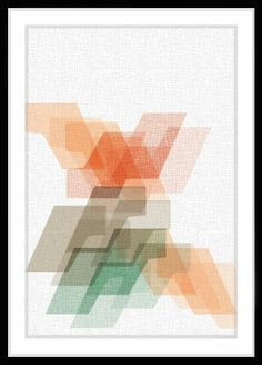 ARTFINDER: AKTION  2 by Leigh Bagley - Inspired by the colours of the greek Mediterranean Leigh Bagley has produced a series of Digital Print patterns that echo the vibrancy and beauty of his favo...