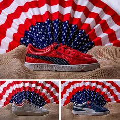 .@PUMA get patriotic with the INDEPENDENCE DAY PACK. Heads up >> http://www.thedropdate.com/heads-up/puma-independence-day-pack …