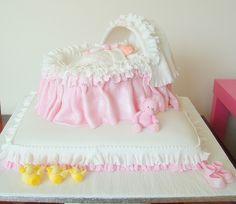 Baby's crib cake by deborah hwang, via Flickr