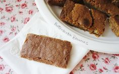 Butterscotch Brownies - one of my favorite recipes