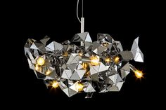 FRACTAL Collection, design by William Brand. #interior #lamp #sculpture #lightingobject
