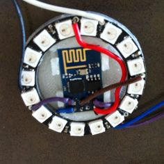 NeoPixel NTP Clock Using ESP8266 | ESP32 ESP8266 | Arduino, Clock