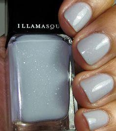 Illamasqua nail polish color Raindrops.