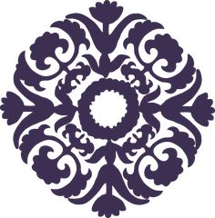 paisley stencils flower vector – Item 10