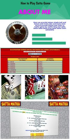 Welcome Friends in the World of Matka world SimpleSatta is the renowned site in the world that offers the perfect conditions and games to earn a fortune.