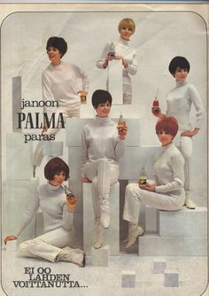 Finnish soft drink advertisement, 1960s