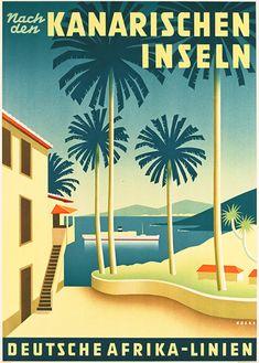 Nach den Kanarischen Inseln - Deutsche Afrika-Linien by Henning Koeke 1939