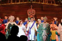 The cast of the Little Mermaid at the Muny, 2011.