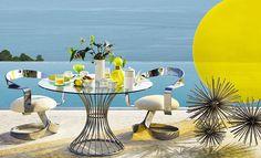 Zara Home se inspira en Miami para su colección más veraniega. #decoración #ZaraHome #Miami #verano #textil #color