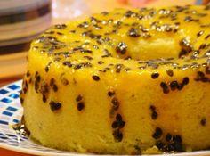Bolo de Maracuj� Delicioso - Veja mais em: http://www.cybercook.com.br/receita-de-bolo-de-maracuja-delicioso.html?codigo=14147