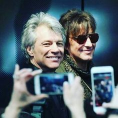 Finally together again!!! JBJ and Richie at Rock and Roll Hall of Fame~