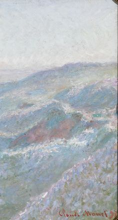 This extraordinary oil on canvas is the work of Impressionist master Claude Monet ~ M.S. Rau Antiques