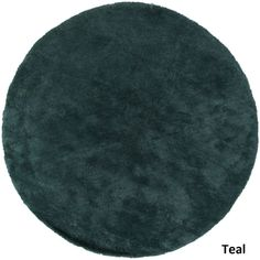 Tapeto Designs Hand-Woven Bowery Polyester Rug (8' Round) (Black-(8' Round)), Black, Size 8'